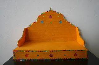 Navratri Craft The Craft Therapy: DIY Pooja Decoration