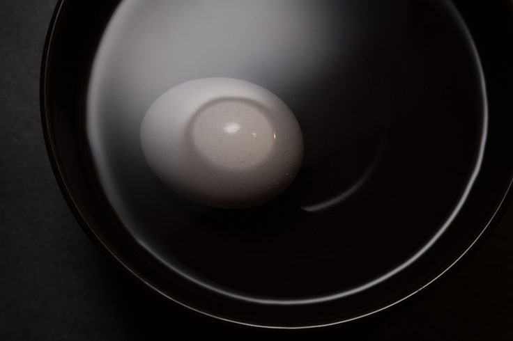 egg in water