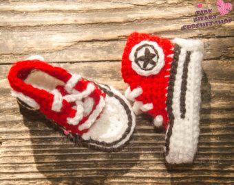 crochet baby converse  https://www.etsy.com/ca/listing/472230996/crochet-baby-converse-crochet-baby-shoes?ref=shop_home_active_8