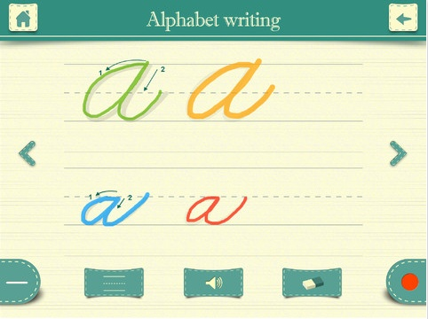 cursive writing app Best android apps for: letter school cursive writing app for practicing handwriting, starting from letters with dynamic instructions, followed by simple words, cursive letters and joined-up cursive.