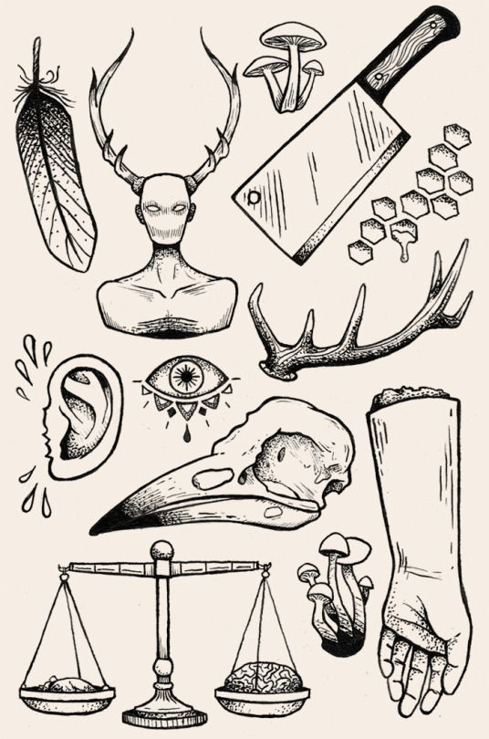 Hannibal-themed flash sheet
