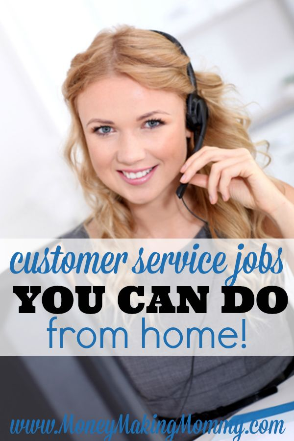 If working from home is something you're truly wanting to do, but blogging or proofreading or writing don't appeal to you, then check out this huge list of customer service jobs you can do from home at MoneyMakingMommy.com. Many companies offer great pay and benefits. Some don't even require experience and offer paid training. It's worth looking into!!