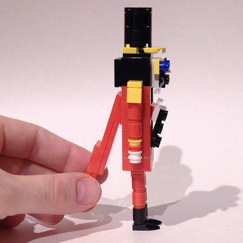 Nutcracker mechanism by Bill Ward's Brickpile, via Flickr