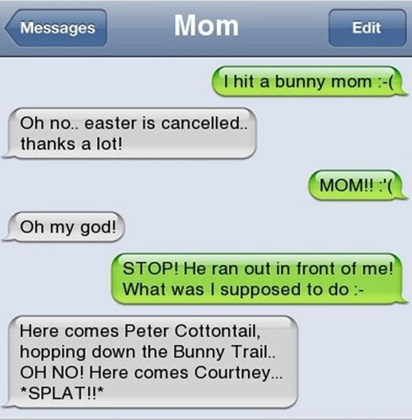 These are without a doubt the funniest text messages ever sent from parents |