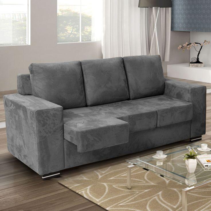 Se Jogue Neste #sofá Super Confortável E #relaxe Vendo Tv! #MadeiraMadeira  # · SienaSofasChangu0027e 3Living RoomPlacesBuy Part 64