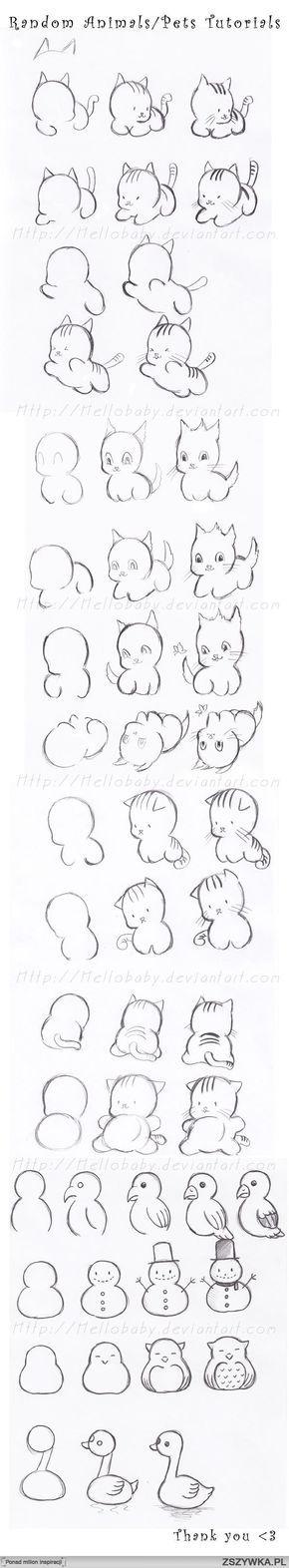 Simple draw tutorials