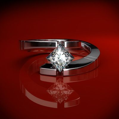 3. Tension Settings for the Bold and Modern Woman…    In tension set rings, the diamond is held in place by force and tension, not by prongs. The diamonds appears to float in the air. The …