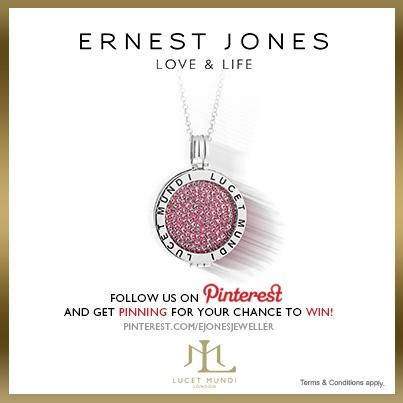 Tuesday 11th June 2013 - #pinittowinit One winner will be drawn on June 12th 2013. Your Facebook or Twitter account MUST BE linked to your Pinterest profile! Terms and conditions: http://www.ernestjones.co.uk/webstore/static/customerservice/terms_and_conditions.do#pinit