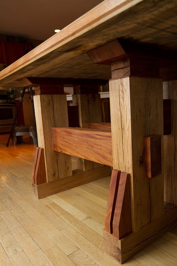 24 Best Massive Wood Table Images On Pinterest  Dining Rooms Delectable Real Wood Dining Room Sets Inspiration Design