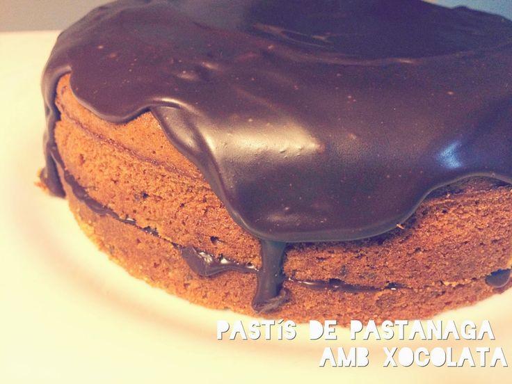 Després d'un kit kat necessari per exàmens, avui comparteixo amb vosaltres la recepta del pastís que vaig fer fa uns dies per l'aniversari d...
