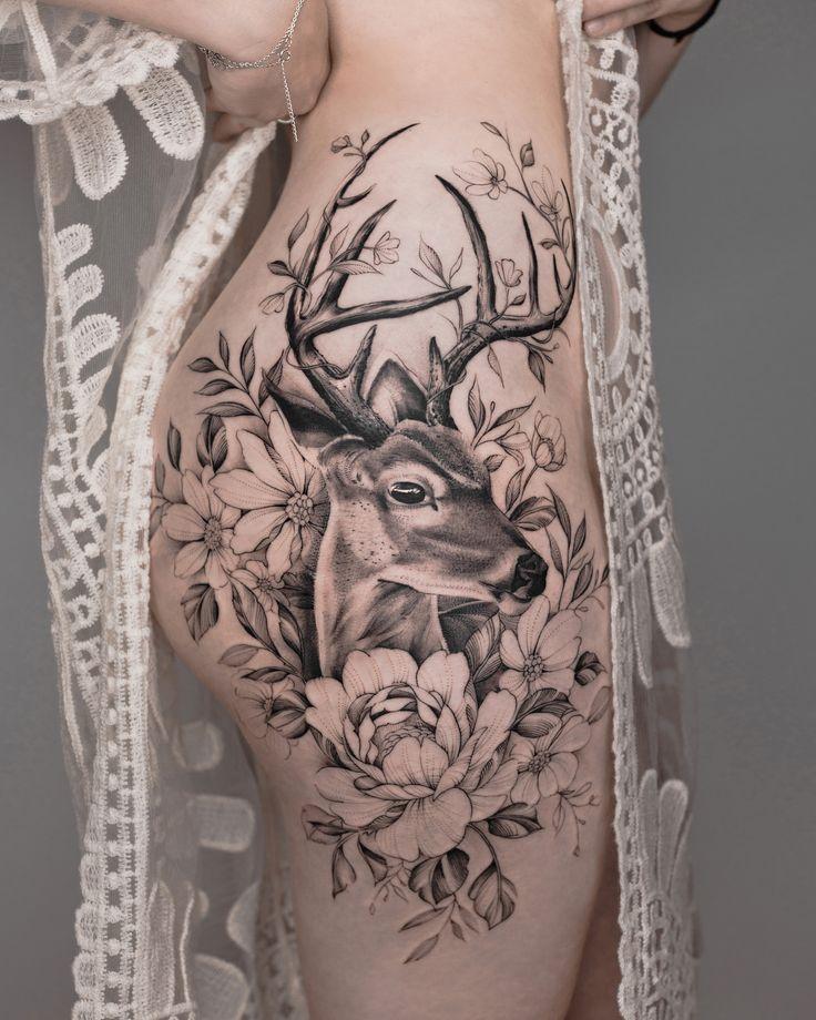 Der Kunde kam den ganzen Weg aus der Schweiz, um ihr erstes Tattoo zu bekommen. Wir haben das 2 – Sophie Thies