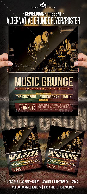 Alternative Grunge Flyer / Poster