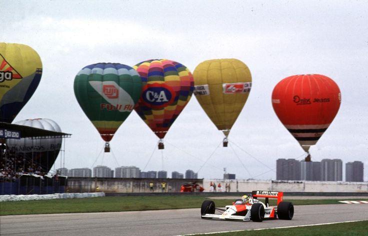 Ayrton Senna (Mclaren-honda) Grand prix du Brésil - Jacarepaguá - 1988 - Formula 1 HIGH RES photos (Old and New) Facebook1988 -