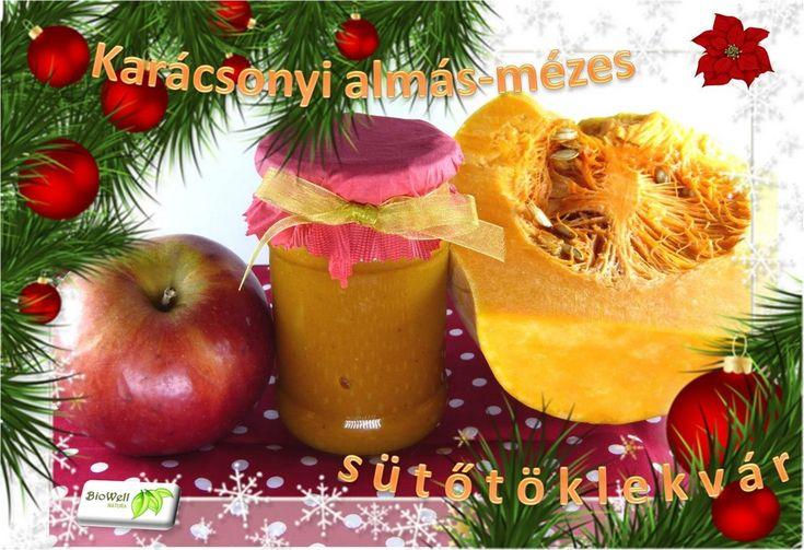 Karácsonyi almás-mézes sütőtöklekvár