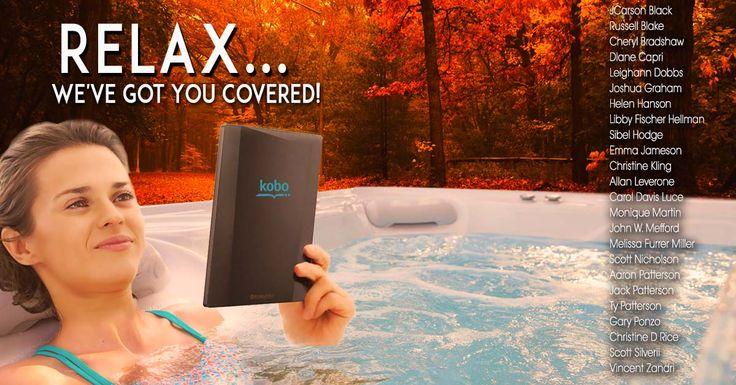 Kobo Aura H2O Water Resistant E-Reader #Giveaway! Ends 11/30