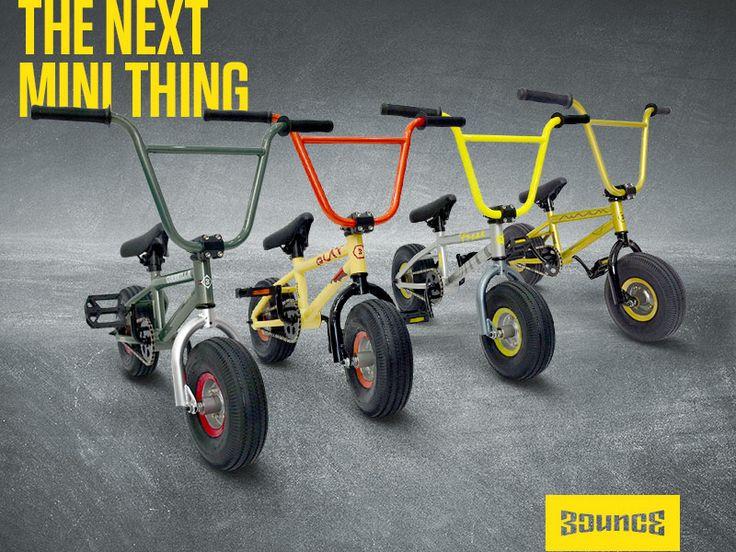 The Next Mini Thing – Bounce Mini BMX.
