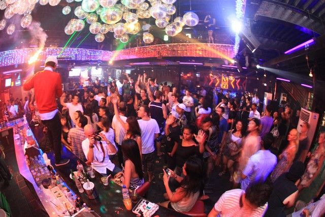 MBarGo - Hip-Hop club with a dance floor, large bar area and lounge - Legian Bali
