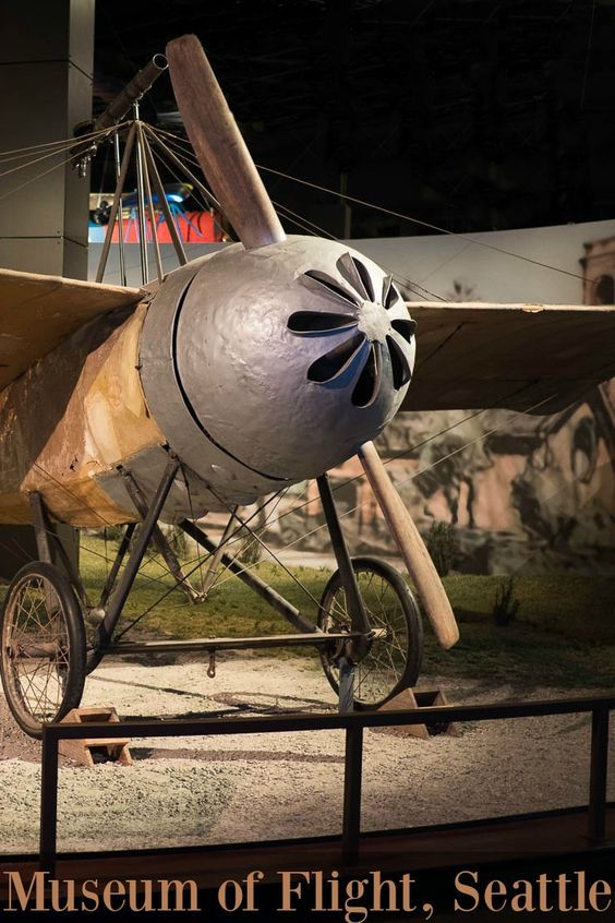 This Caproni CA20 is the world's first fighter plane. It is an original, an Italian fighter from 1914, and the oldest in the Museum of Flight collection. (Seattle Washington, USA)