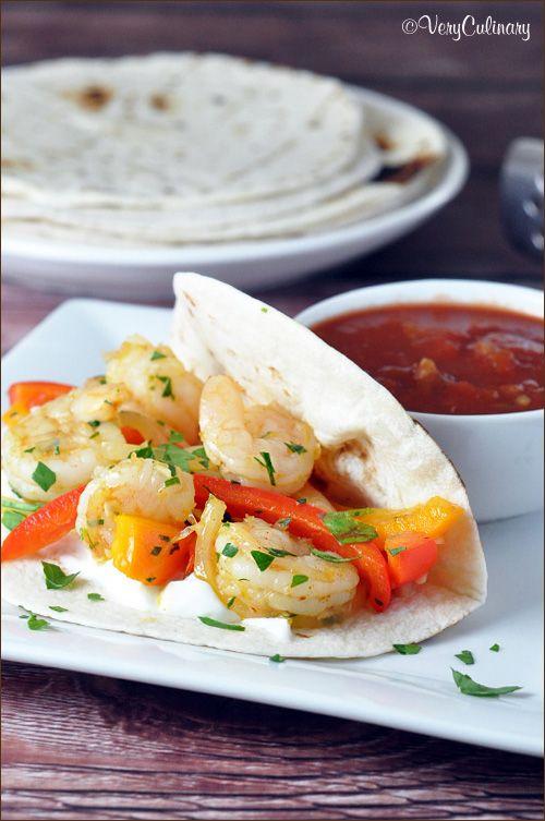 ... Shrimp Fajitas, Food Yum, Foods Recipe, Maine Courses, Fish Shellfish