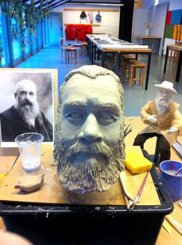 Claude Monet,bust @ sabaci museum