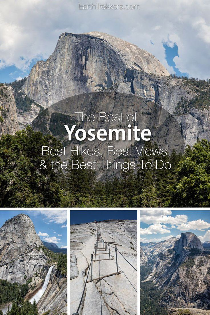 Yosemite for FirstTimers Best Hikes, Best Views, & the