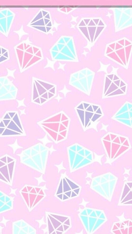 Fondo de muchos diamantes
