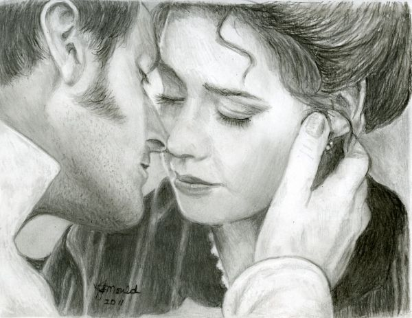 Richard Armitage, Daniela Denby-Ashe North and South. I think I've watched this ending about a million times...