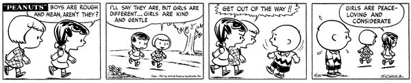 Peanuts | April 26, 1951