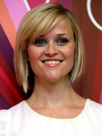 Reese Witherspoon Short Angled Bob Haircut