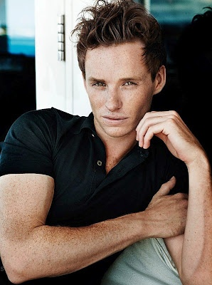 Eddie Redmayne - his freckles make me blush