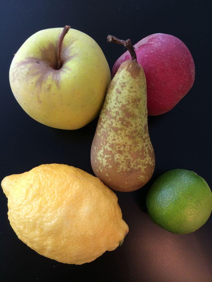 Disse frugter er gode til at blande med grøntsager, når du laver en grøntsagsjuice.