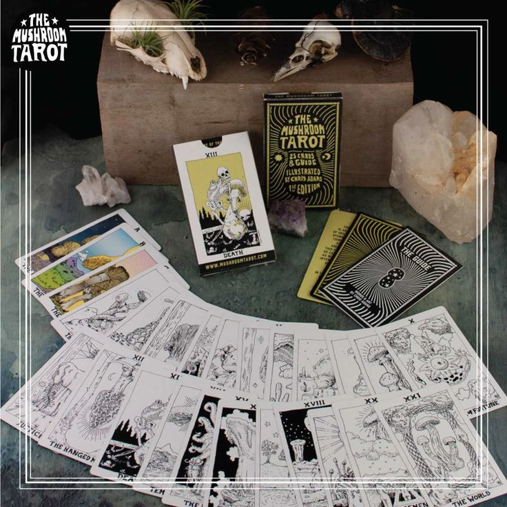 Bw major arcana only 1st edition tarot deck in 2020
