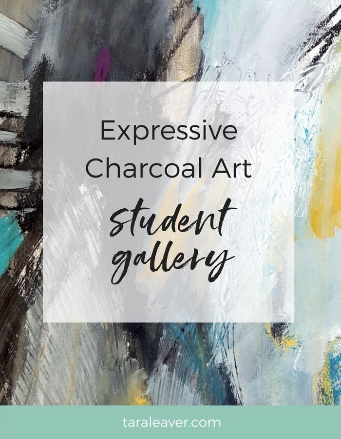 Expressive charcoal art: Student gallery