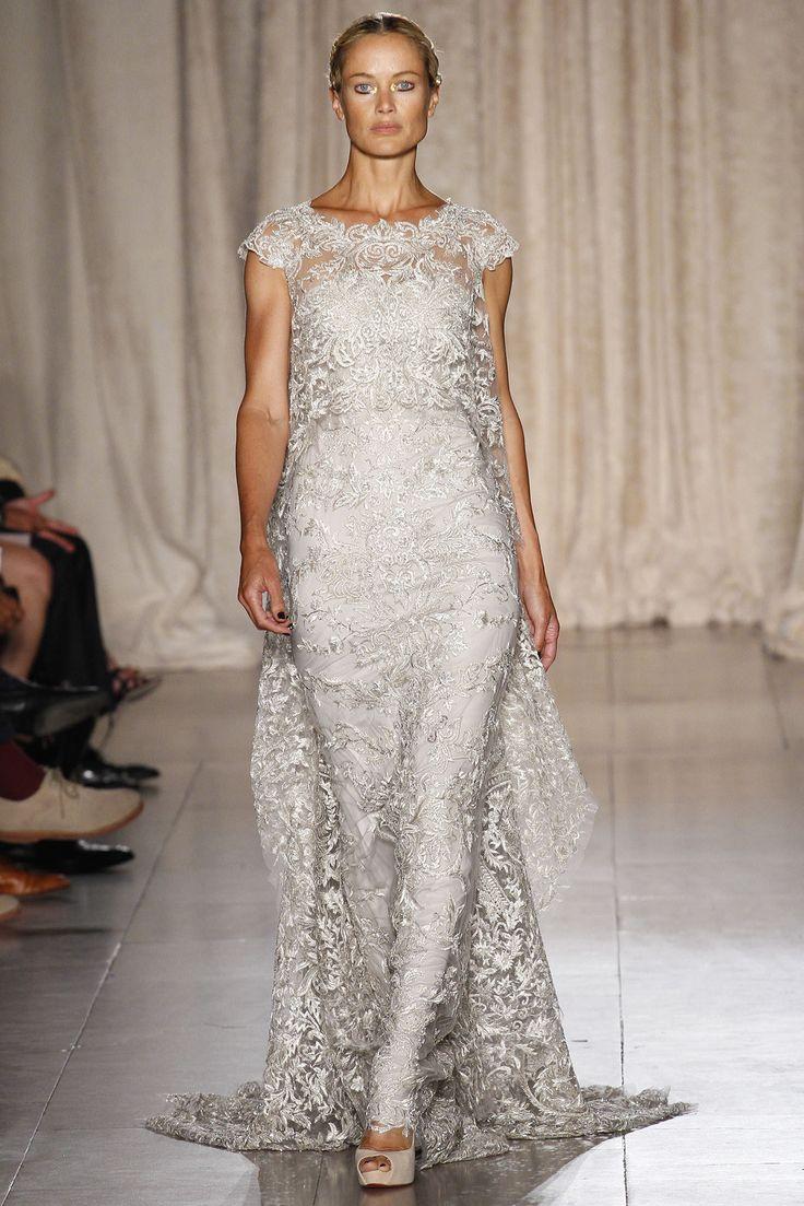 Marchesa Spring 2013 Ready-to-Wear Fashion Show - Carolyn Murphy