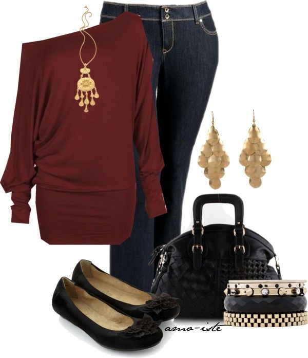 """""""Casual - Plus Size"""" by amo-iste on Polyvore"""