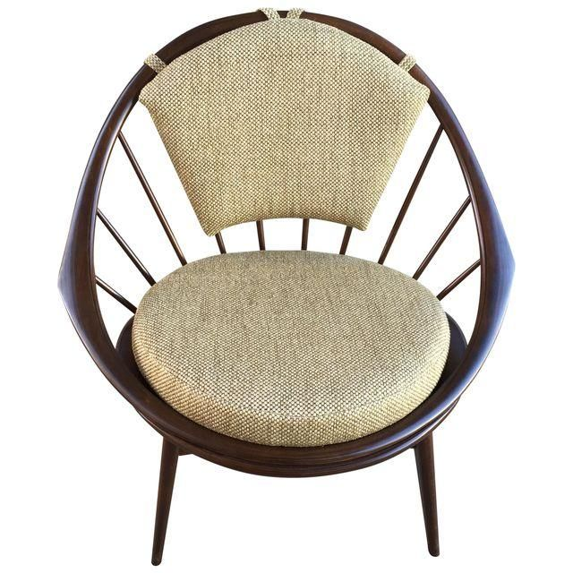 Image Of Ib Kofod Larsen Hoop Lounge Chair For Selig