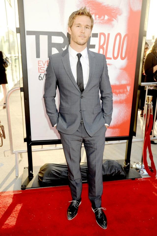 "HBO ""True Blood"" Season 5 Premiere - Red Carpet: HOLLYWOOD, CA - MAY 30: Actor Ryan Kwanten ..."