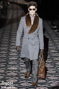 Пальто мужское рысь