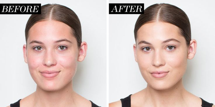 The before and after. Check out how natural and flawless her skin looks after using our tips for foundation application!