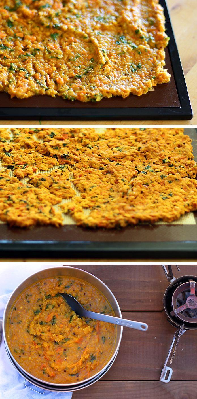DIY Backpacking Meal: Red Lentil Sweet Potato Dal