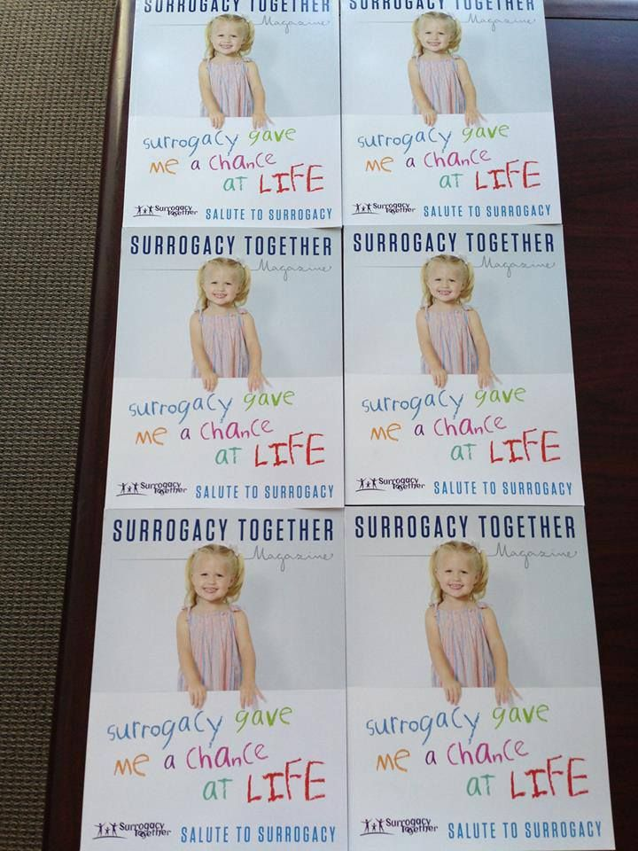 Surrogacy Together Magazine is ready! #surrogacy #surrogacytogether #magazine