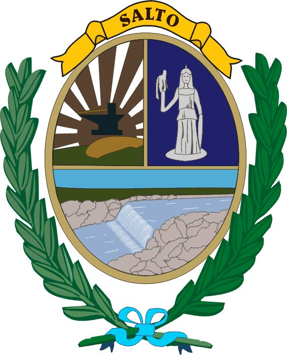 COA of Salto, is a department of the northwestern region of Uruguay. It has an area of 14,163 km2 (5,468 sq mi) and a population of 124,878. Its capital is the city of Salto. It borders Artigas Department to its north, Paysandú Department to its south, the departments of Rivera and Tacuarembó to its east and has the Río Uruguay flowing at its west, separating it from Argentina.