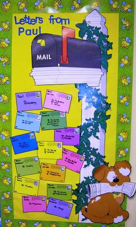 Bible Fun For Kids: Acts & Life of Paul Bulletin Boards [ FOR WALK IN AREAS OF BUILDINGS THE CHURCH MEMBERS MEET AT ] how nice.