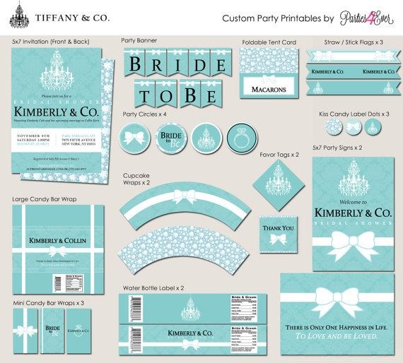 Tiffany & Co. Breakfast at Tiffany's Party by Parties4Ever