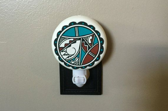 Southwestern Native American Painted Night by SouthwestStyleGifts