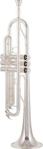 . Vendo trompeta yamaha ytr-4335 gs ii, en tonalidad de si bemol, en muy buen estado, plateada. pr�cticamente nueva, 2 a�os de antig�edad, reci�n limpiada. afinaci�n perfecta. malet�n original yamaha y en perfecto estado y boquilla  yamaha tr11b4  sin estrenar, incluida. atiendo whatsapp, email y llamadas. tlf: 630440035           --especificaciones--  calibre: ml- � 11,65 mm  campana: � 123 mm de lat�n  bomba de afinaci�n con apoyo  campana con grosor de material �ptimo  v�lvulas de monel…
