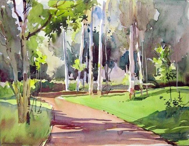 watercolor paintings | Milind Mulick Watercolor Paintings - Fine Art Blogger