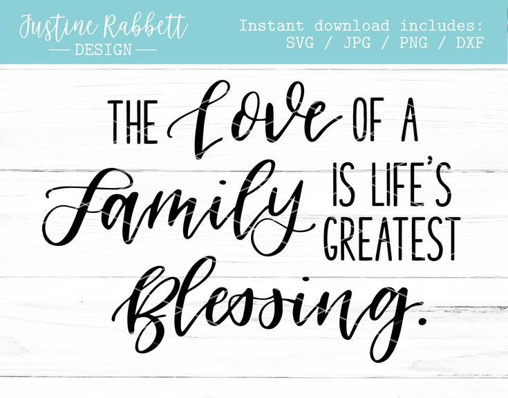 Download The love of a family is lifes greatest blessing ...