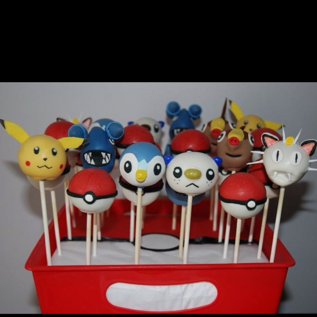 Pokemon Cake Pops by The Creative Cakery Bake Shoppe, Toronto