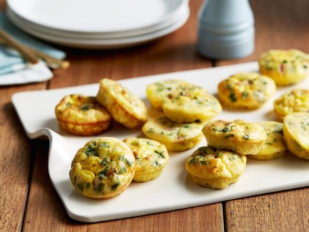 Get Mini Frittatas Recipe from Food Network  Recipe courtesy of Giada De Laurentiis